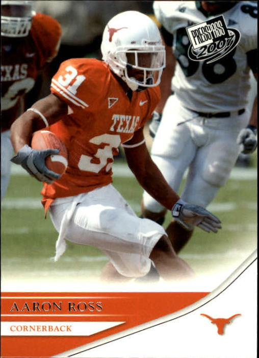 2007 Press Pass #46 Aaron Ross