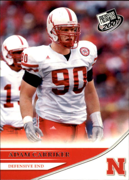 2007 Press Pass #47 Adam Carriker