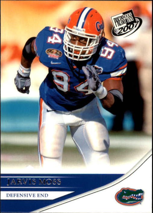 2007 Press Pass #49 Jarvis Moss