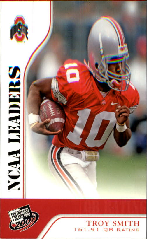 2007 Press Pass #53 Troy Smith LDR