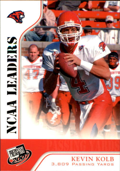 2007 Press Pass #55 Kevin Kolb LDR