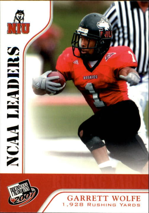 2007 Press Pass #57 Garrett Wolfe LDR