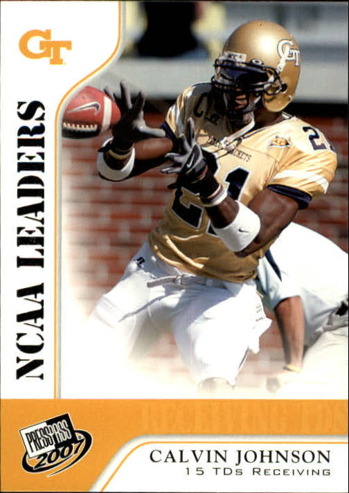 2007 Press Pass #63 Calvin Johnson LDR