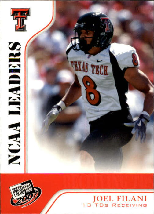 2007 Press Pass #64 Joel Filani LDR