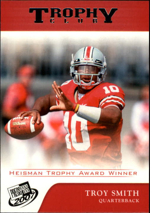 2007 Press Pass #69 Troy Smith TC
