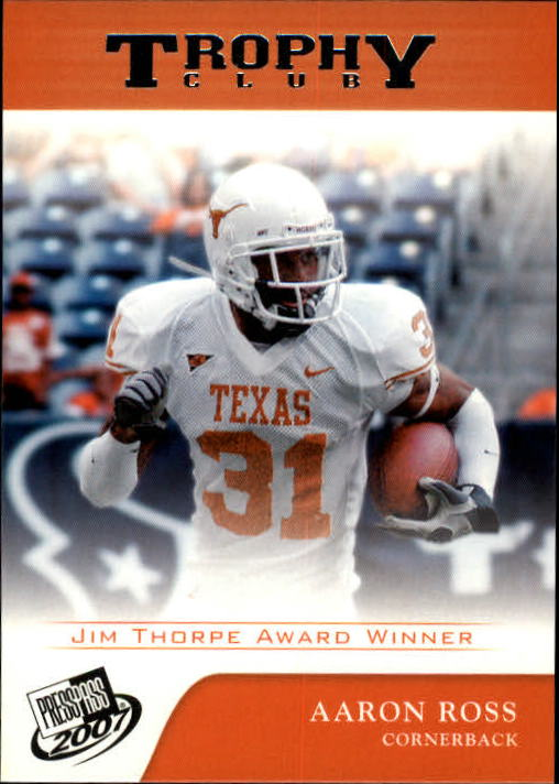 2007 Press Pass #73 Aaron Ross TC