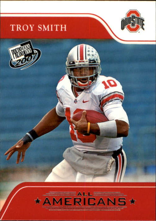 2007 Press Pass #75 Troy Smith AA