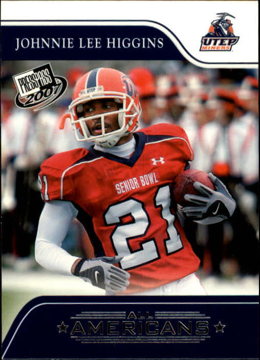 2007 Press Pass #77 Johnnie Lee Higgins AA
