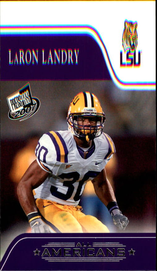 2007 Press Pass #85 LaRon Landry AA