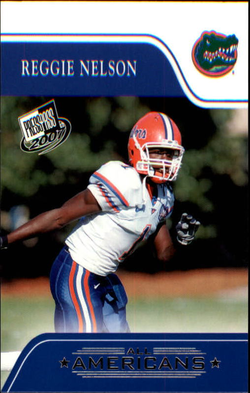 2007 Press Pass #86 Reggie Nelson AA