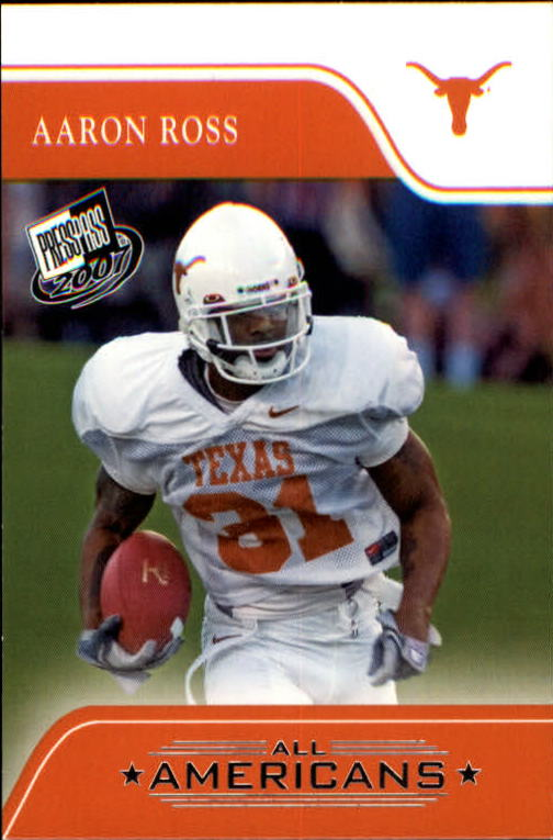 2007 Press Pass #87 Aaron Ross AA