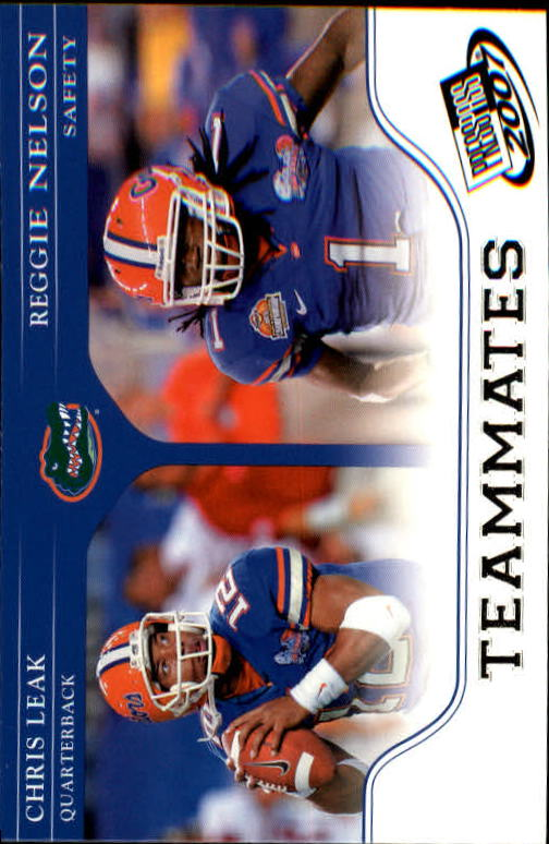 2007 Press Pass #89 C.Leak/R.Nelson TM