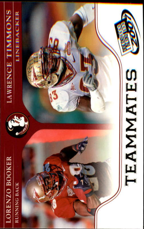 2007 Press Pass #90 L.Booker/L.Thomas TM