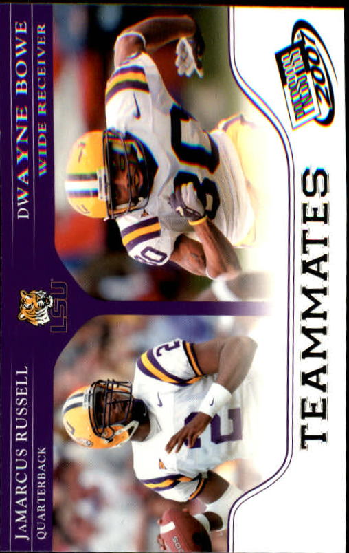 2007 Press Pass #91 J.Russell/D.Bowe TM
