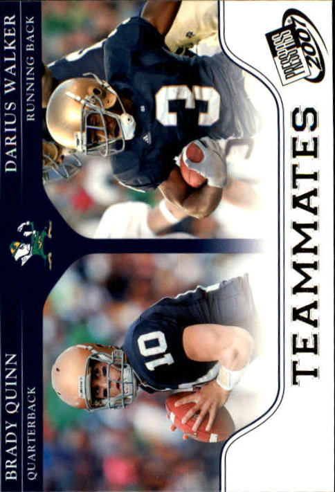 2007 Press Pass #93 B.Quinn/D.Walker TM
