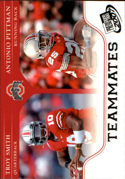 2007 Press Pass #94 T.Smith/A.Pittman TM