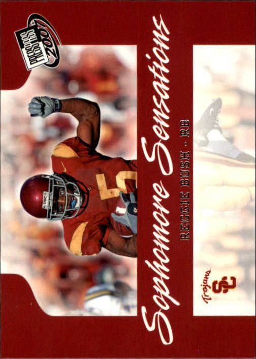 2007 Press Pass #99 Reggie Bush SS