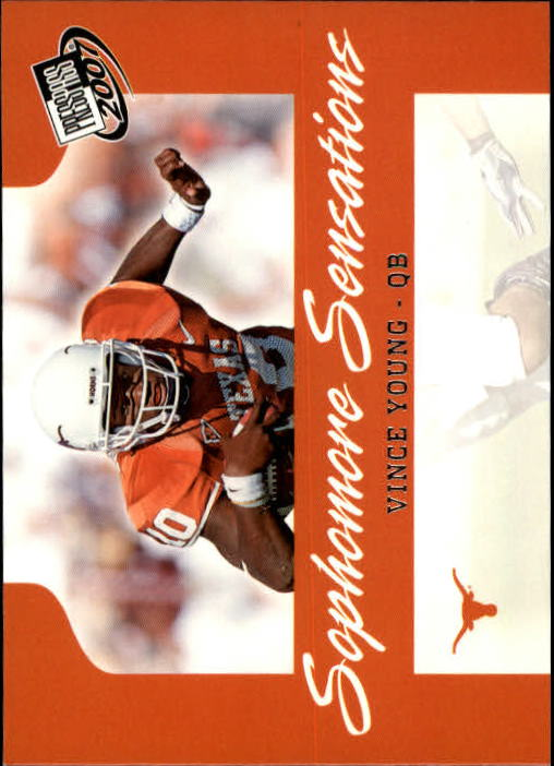 2007 Press Pass #100 Vince Young SS