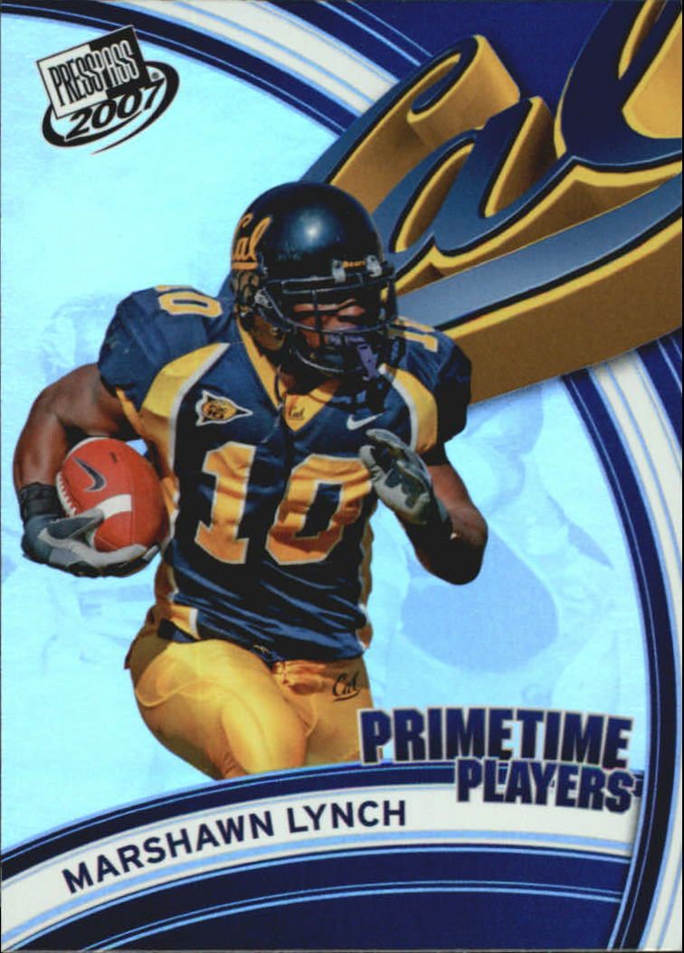 2007 Press Pass Primetime Players #6 Marshawn Lynch