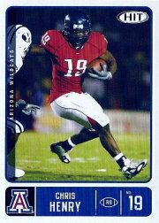 2007 SAGE HIT #9 Chris Henry