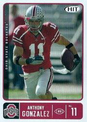 2007 SAGE HIT #11 Anthony Gonzalez