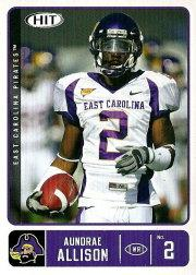 2007 SAGE HIT #22 Aundrae Allison