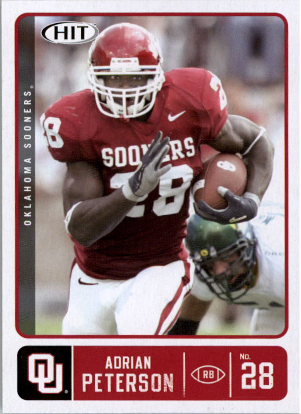 2007 SAGE HIT #28 Adrian Peterson