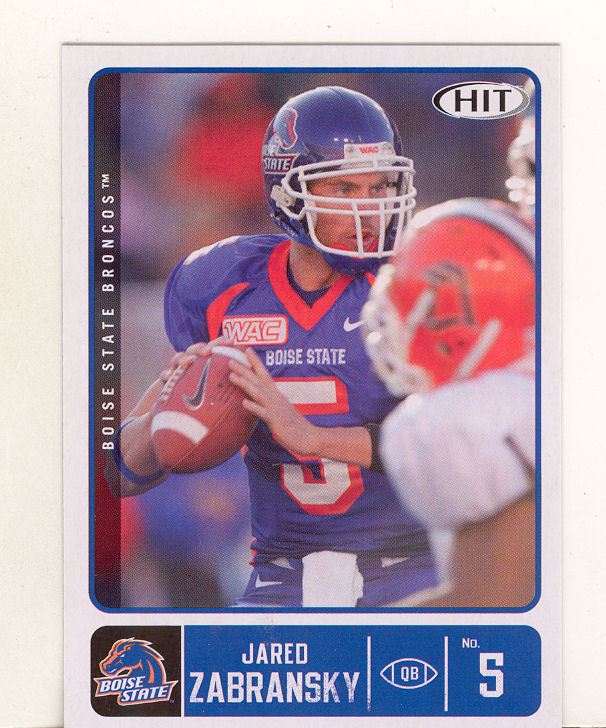 2007 SAGE HIT #45 Jared Zabransky