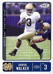 2007 SAGE HIT #47 Darius Walker