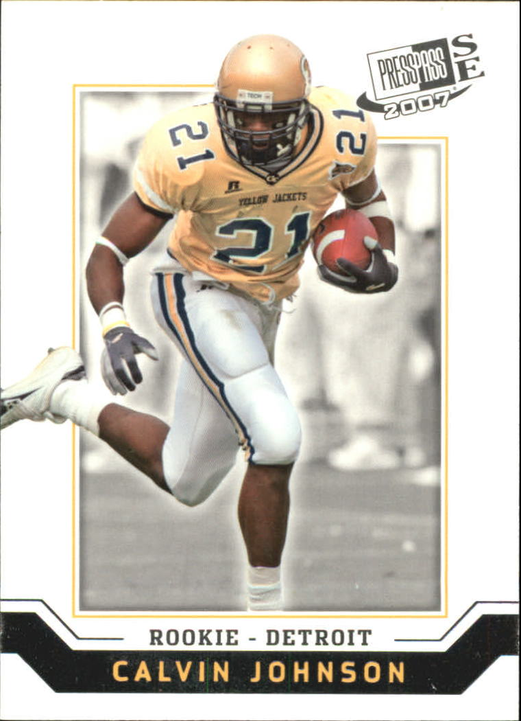 2007 Press Pass SE #7 Calvin Johnson
