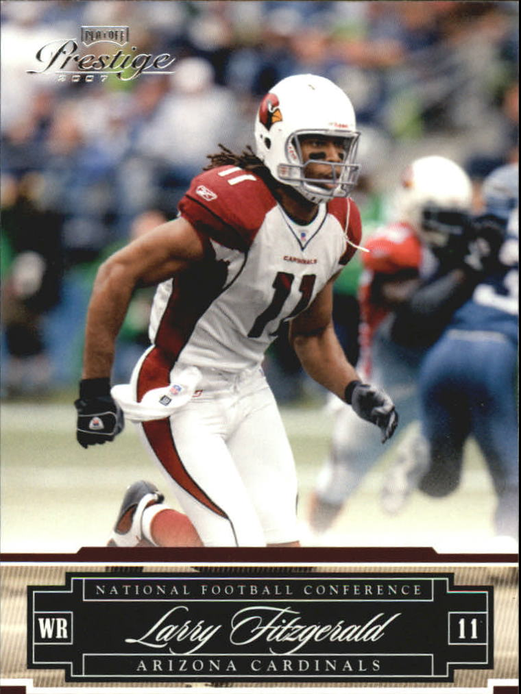 2007 Playoff Prestige #3 Larry Fitzgerald