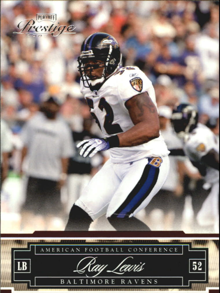 2007 Playoff Prestige #15 Ray Lewis