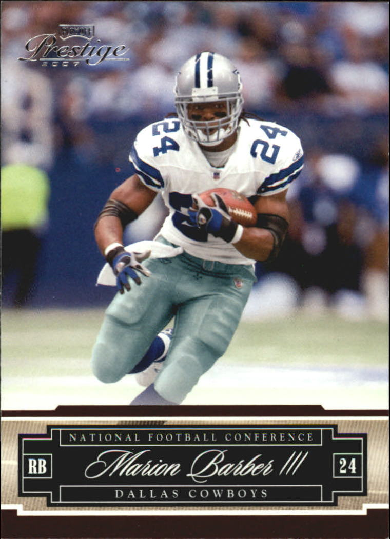 2007 Playoff Prestige #42 Marion Barber