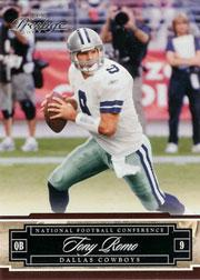 2007 Playoff Prestige #44 Tony Romo
