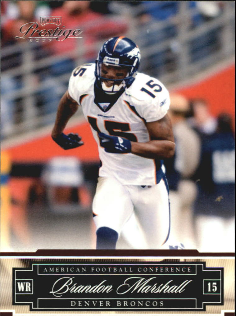 2007 Playoff Prestige #48 Brandon Marshall