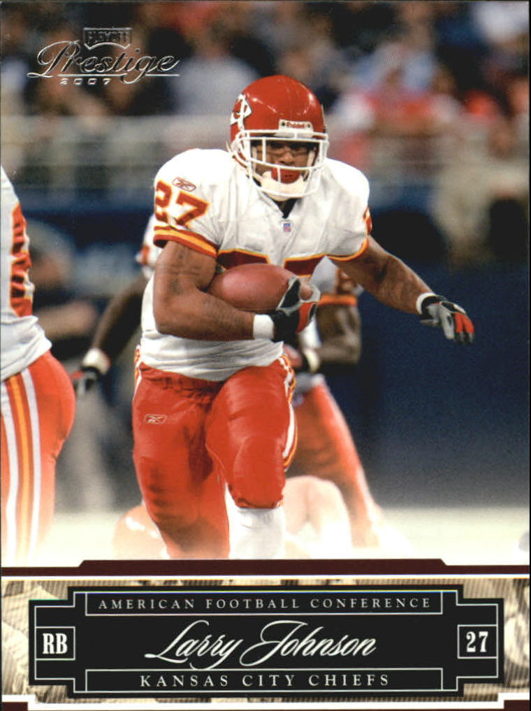 2007 Playoff Prestige #75 Larry Johnson