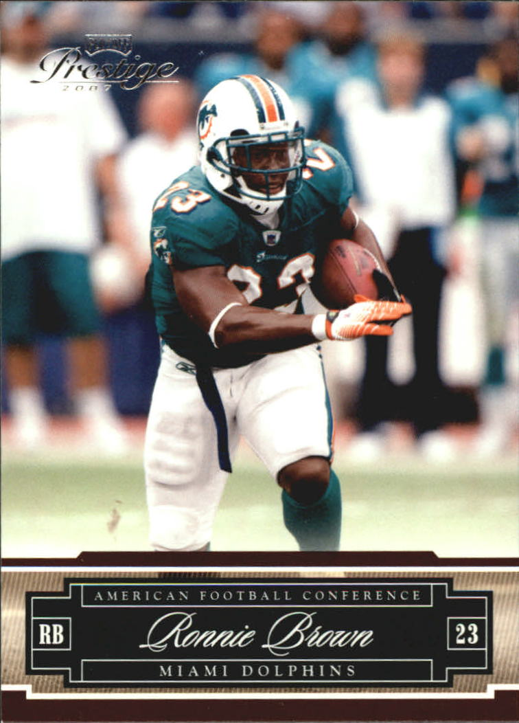 2007 Playoff Prestige #81 Ronnie Brown