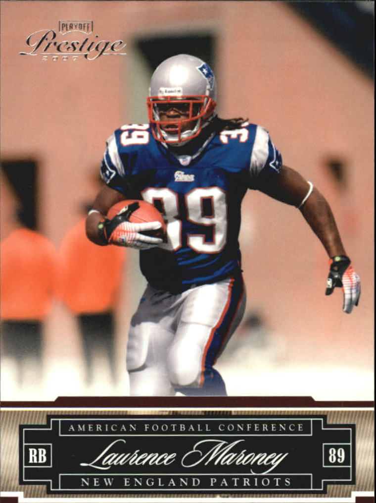 2007 Playoff Prestige #89 Laurence Maroney