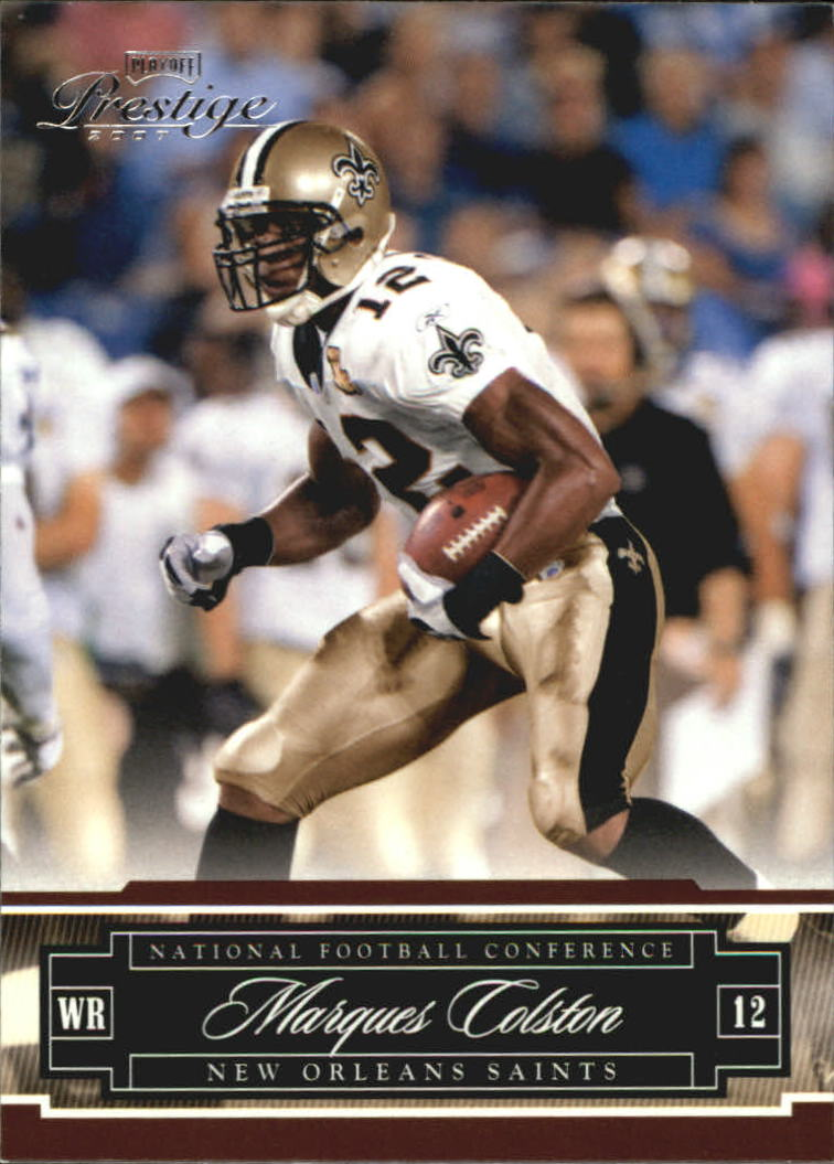 2007 Playoff Prestige #92 Marques Colston