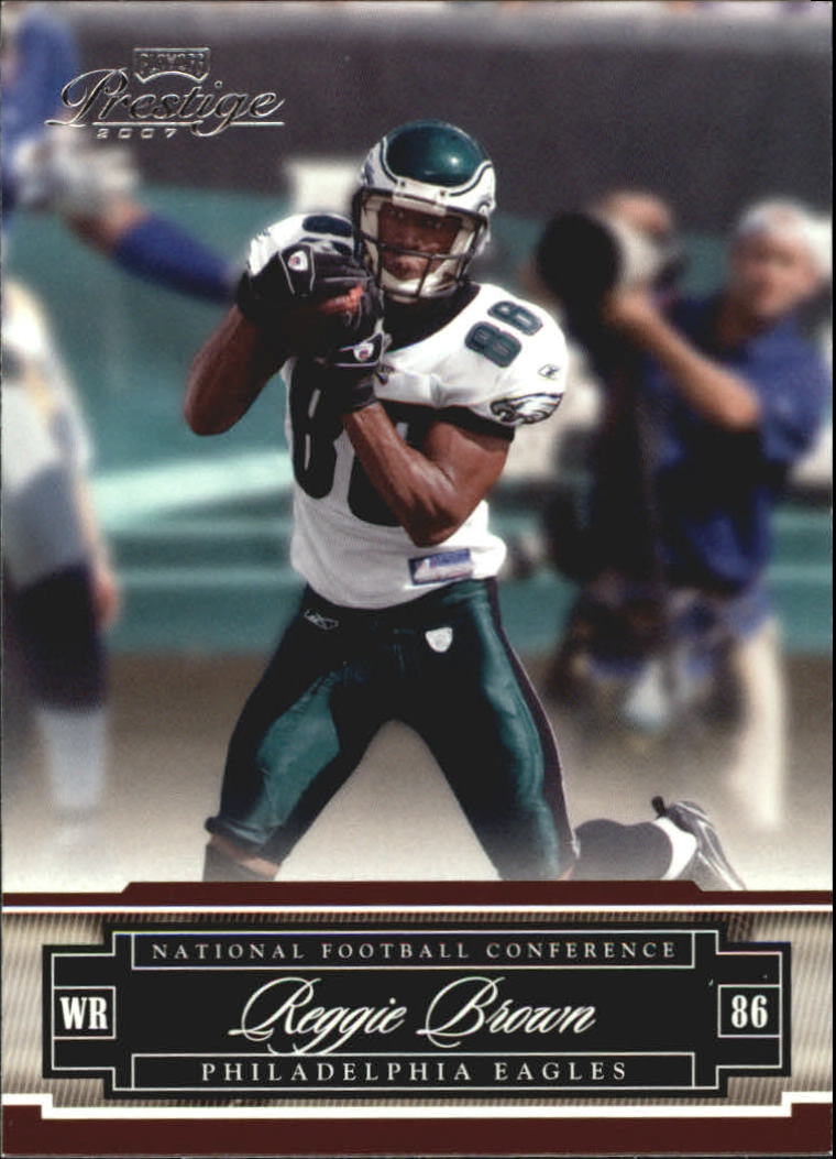 2007 Playoff Prestige #113 Reggie Brown