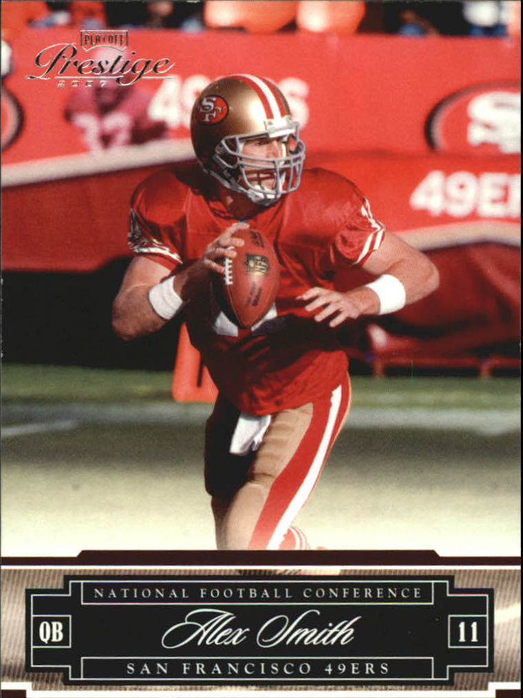 2007 Playoff Prestige #124 Alex Smith QB
