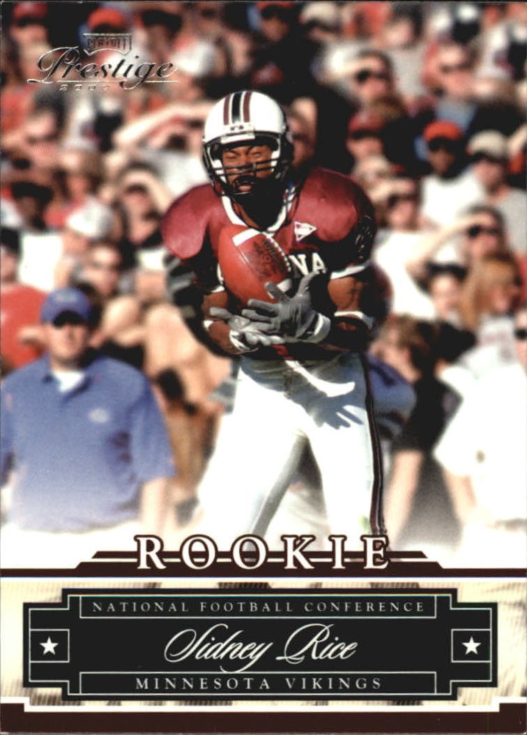2007 Playoff Prestige #166 Sidney Rice RC