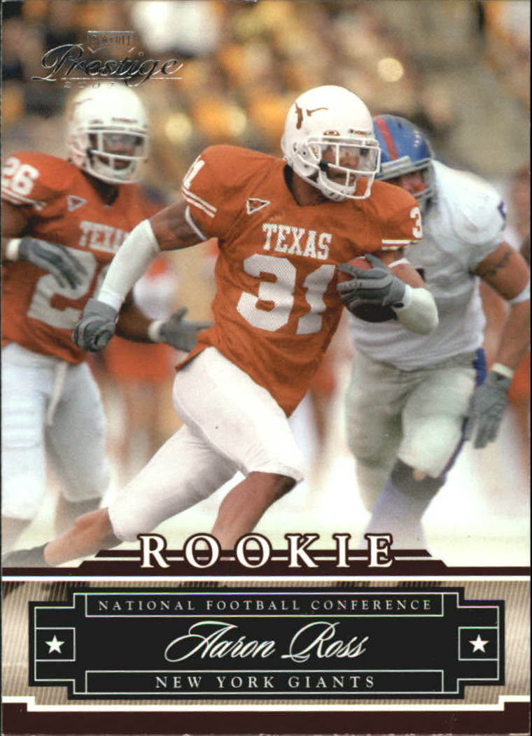 2007 Playoff Prestige #197 Aaron Ross RC