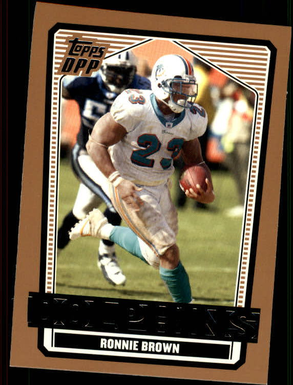 2007 Topps Draft Picks and Prospects #13 Ronnie Brown