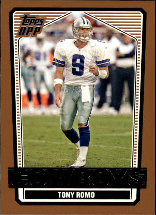 2007 Topps Draft Picks and Prospects #57 Tony Romo