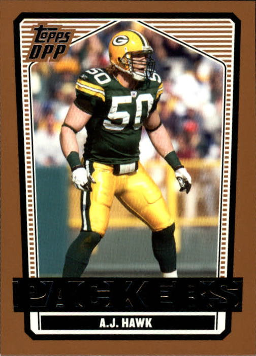 2007 Topps Draft Picks and Prospects #72 A.J. Hawk front image