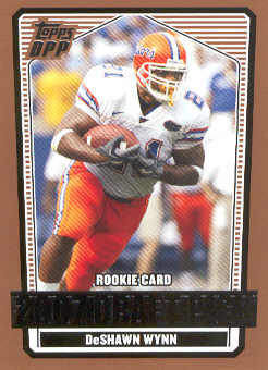2007 Topps Draft Picks and Prospects #143 DeShawn Wynn RC