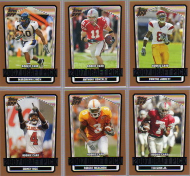 2007 Topps Draft Picks and Prospects #154 Sidney Rice RC