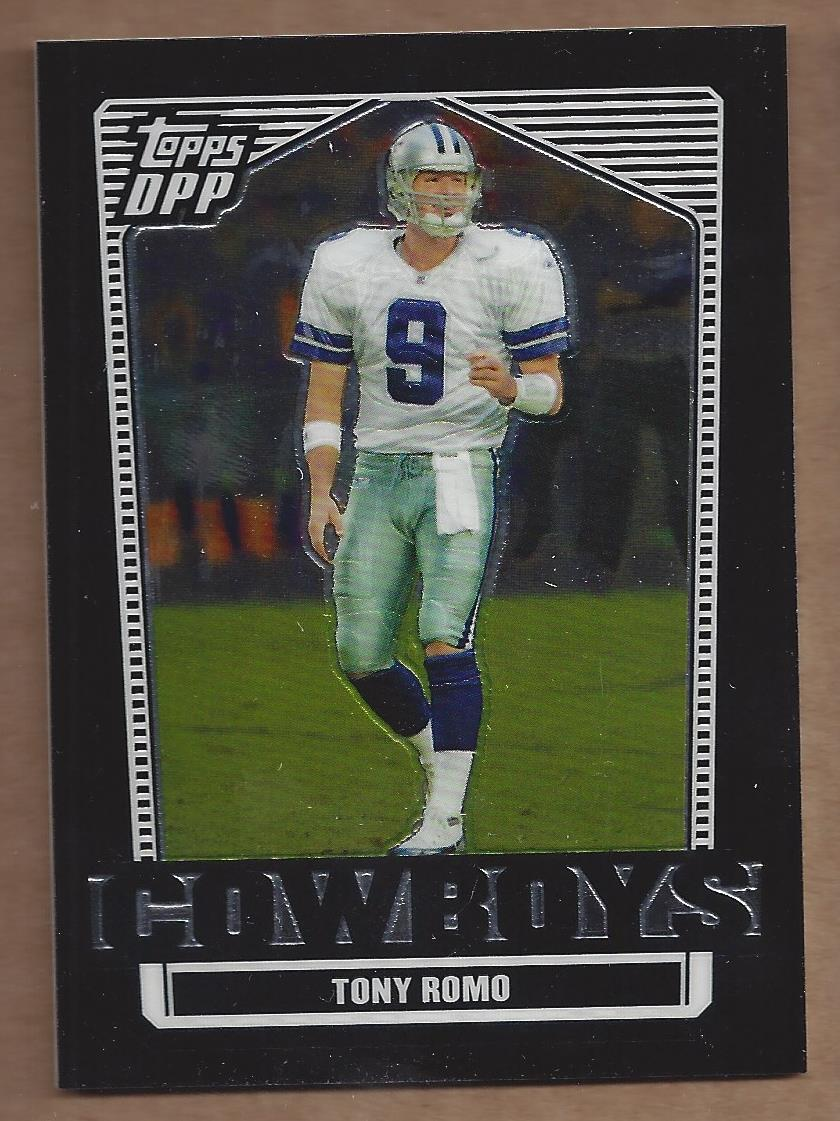 2007 Topps Draft Picks and Prospects Chrome Black #57 Tony Romo