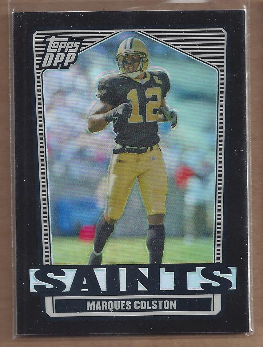 2007 Topps Draft Picks and Prospects Chrome Black Refractors #59 Marques Colston